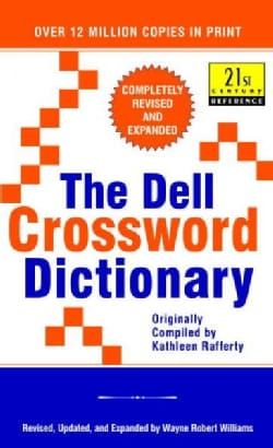 The Dell Crossword Dictionary (Paperback)