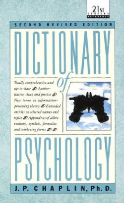 Dictionary of Psychology (Paperback)