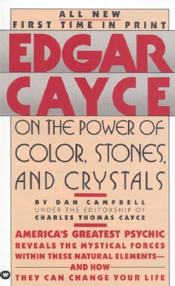 Edgar Cayce on the Power of Color, Stones and Crystals (Paperback)