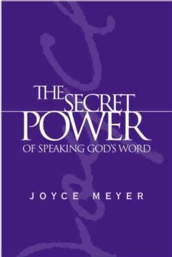 The Secret Power of Speaking God's Word (Hardcover)