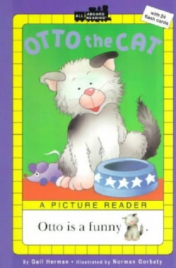 Otto the Cat: A Picture Reader/With 24 Flash Cards (Paperback)