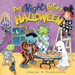 The Night Before Halloween (Paperback)