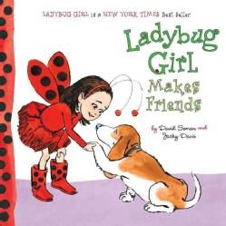 Ladybug Girl Makes Friends (Board book)