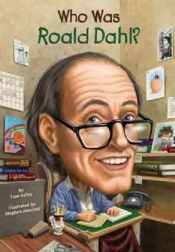 Who Was Roald Dahl? (Paperback)
