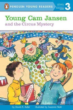 Young Cam Jansen and the Circus Mystery (Paperback)