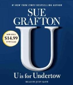 U Is for Undertow (CD-Audio)