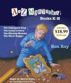 A to Z Mysteries Books K-n (CD-Audio)
