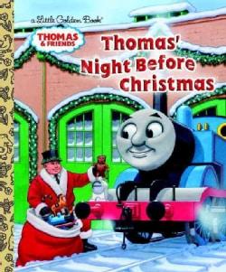 Thomas' Night Before Christmas (Hardcover)