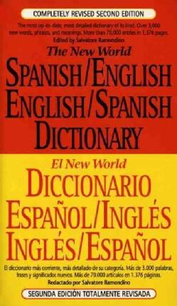 The New World Spanish/English English/Spanish Dictionary (Paperback)