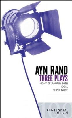 Three Plays: Night Of Janurary 16th / Ideal / Think Twice (Paperback)