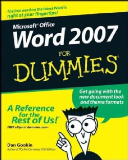 Word 2007 for Dummies (Paperback)