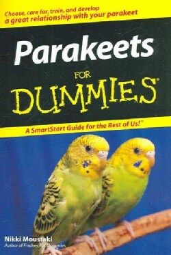 Parakeets for Dummies (Paperback)