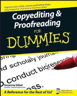 Copyediting & Proofreading for Dummies (Paperback)