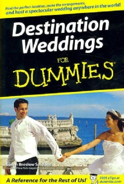 Destination Weddings for Dummies (Paperback)