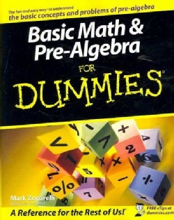 Basic Math & Pre-Algebra for Dummies (Paperback)