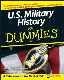 U.S. Military History for Dummies (Paperback)