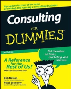 Consulting for Dummies (Paperback)