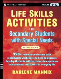 Life Skills Activities for Secondary Students With Special Needs (Paperback)