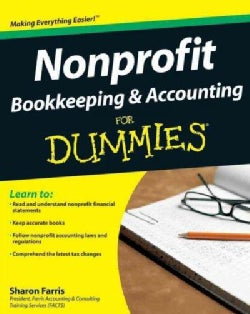 Nonprofit Bookkeeping & Accounting for Dummies (Paperback)