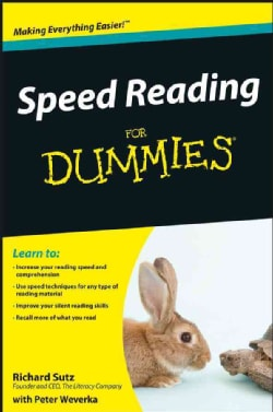 Speed Reading for Dummies (Paperback)
