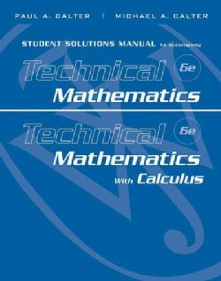 Technical Mathematics & Technical Mathematics with Calculus (Paperback)