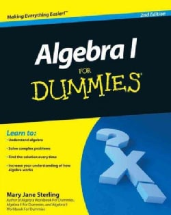 Algebra I for Dummies (Paperback)