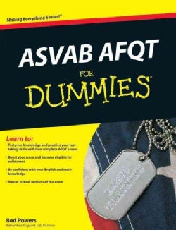 ASVAB AFQT for Dummies (Paperback)