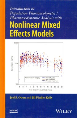 Introduction to Population Pharmacokinetic/Pharmacodynamic Analysis with Nonlinear Mixed Effects Models (Hardcover)