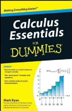 Calculus Essentials for Dummies (Paperback)