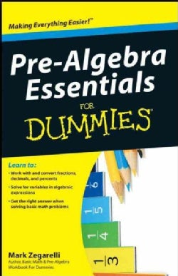 Pre-Algebra Essentials for Dummies (Paperback)