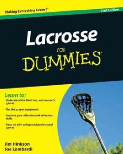 Lacrosse for Dummies (Paperback)