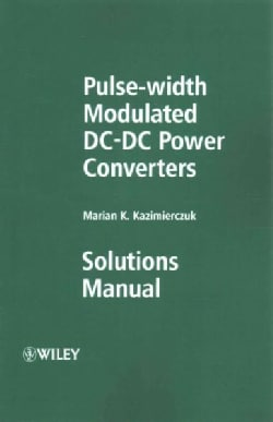 Pulse-width Modulated Dc-dc Power Converters (Paperback)