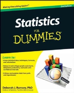 Statistics for Dummies (Paperback)