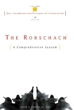 The Rorschach: A Comprehensive System : Basic Foundations and Principles of Interpretation (Hardcover)
