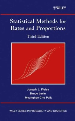 Statistical Methods for Rates and Proportions (Hardcover)