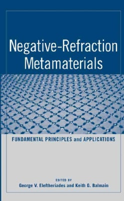Negative-Refraction Metamaterials: Fundamental Principles and Applications (Hardcover)