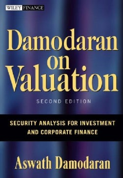 Damodaran on Valuation: Security Analysis for Investment And Corporate Finance (Hardcover)