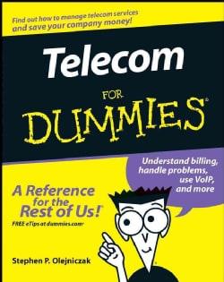 Telecom for Dummies (Paperback)