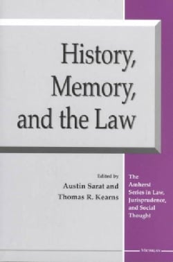 History, Memory, and the Law (Paperback)