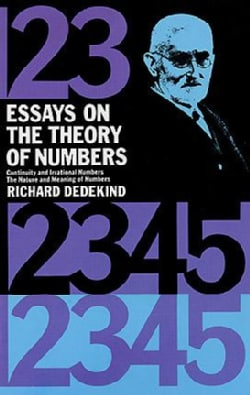 Essays on the Theory of Numbers (Paperback)