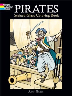 Pirates Stained Glass Book