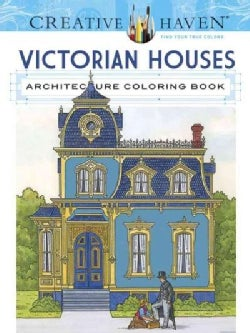 Creative Haven Victorian Houses Architecture (Paperback)