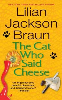The Cat Who Said Cheese (Paperback)