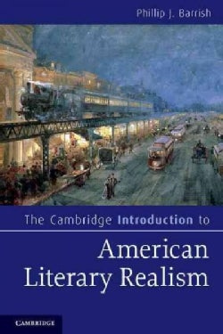 The Cambridge Introduction to American Literary Realism (Paperback)
