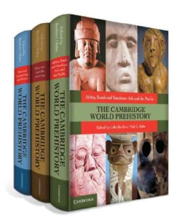 The Cambridge World Prehistory (Hardcover)