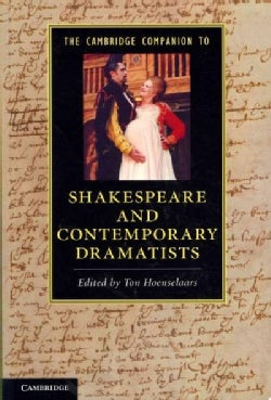 The Cambridge Companion to Shakespeare and Contemporary Dramatists (Paperback)