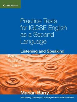 Practice Tests for IGCSE English As a Second Language: Listening and Speaking (Paperback)