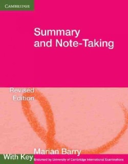Summary and Note-Taking With Key (Paperback)