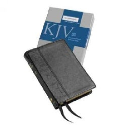 Holy Bible: King James Version Black Imitation Leather Cameo Reference Bible (Hardcover)