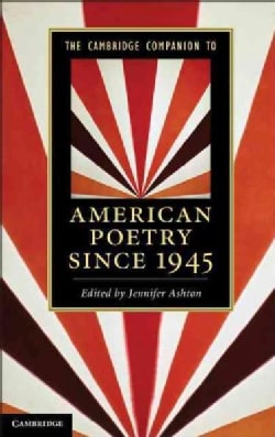 The Cambridge Companion to American Poetry Since 1945 (Paperback)
